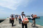 Ringankan Beban Warga, Relawan Indonesia Bersatu Sambangi Kepulauan Seribu