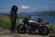 DNA Sport Heritage XSR 155 Sampai di Titik Paling Timur Indonesia
