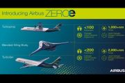 Airbus Perkenalkan Konsep Pesawat Bermesin Hybrid