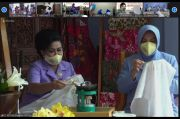 Istri Panglima TNI Buka Pelatihan Membatik Secara Virtual
