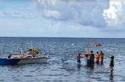 Pemancing Hilang di Perairan Laut Siau, Tim SAR Masih Lakukan Pencarian