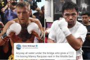 Seru! Manny Pacquiao Terima Tantangan Duel Lawan Conor McGregor
