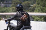 Mark Ryden Lengkapi Gaya Bikers yang Doyan Ngegas
