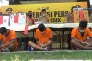 Bersenjata Sendok dan Penggaris, 3 Pria Bobol Minimarket, Kok Bisa