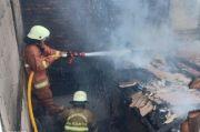 Satu Rumah di Kelapa Gading Musnah Terbakar