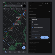 Google Maps di Android Kini Punya Dark Mode