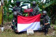 Marinir Pastikan Patok Batas Indonesia-Malaysia Tak Bergeser