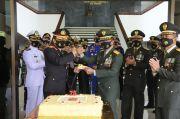 Ada Kejutan Kapolda Jateng untuk Pangdam Diponegoro di HUT TNI