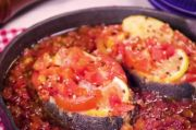 Ikan Panggang Tomat, Bikinnya Pakai Beberapa Bahan Utama Saja