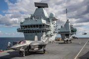 Gertak Rusia dan China, Kapal Induk Paling Mematikan Inggris Manuver Besar-besaran
