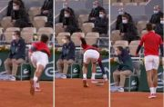Novak Djokovic Gegerkan Roland Garros! Pukul Hakim Garis, Beruntung Tak Diusir