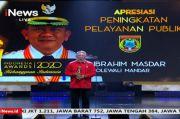 Kabupaten Polewali Mandar Terima Apresiasi Peningkatan Pelayanan Publik