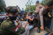 89 Remaja Diamankan Polisi Saat Ingin Demo ke DPR, 2 Positif Covid-19