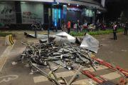 Fasilitas di Jakpus Porak-poranda, Warga Diimbau Tak Melintas di Sekitar Lokasi Kerusuhan