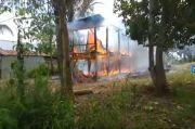 Sempat Terkurung dalam Rumahnya yang Terbakar, Nenek Rahmasia di Wajo Sulsel Selamat dari Kebakaran