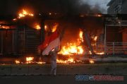 18 Halte Dirusak dan Dibakar, Transjakarta Tetap Beroperasi Hari Ini