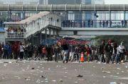 Aksi Unras Kamis 8 Oktober Sisakan 398 Ton Sampah di Jakarta