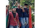 Ribuan Mahasiswa dan Masyarakat Ciamis Gelar Aksi Tolak Omnibus Law