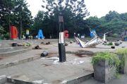 Fasilitas Umum Dirusak Oknum Demonstran, Kerugian Ditaksir Rp300 juta
