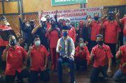 Membelot, Puluhan Mantan Pengurus PAC PDIP Dukung Azis-Haris