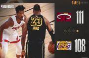 Miami Heat Paksa Lakers Mainkan Game Keenam Final NBA 2020