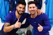 Suarez Klaim Dibuang Barcelona karena Terlalu Akrab dengan Messi