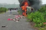 Mobil Dinas Dibakar Massa, Sekretariat DPRD Baubau Lapor Polisi