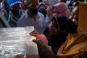 Jenazah Sandra Abu Sayyaf Tiba di Kampung Halaman, Isak Tangis Keluarga Pecah