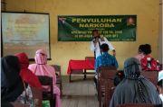 TMMD di Sampit Kalteng Juga Diisi Penyuluhan Bahaya Narkoba