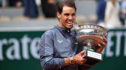 13 Kali Kampiun French Open, Nadal Samai Rekor Federer 20 Kali Juara Grand Slam