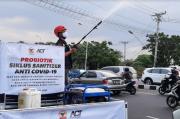 Tangkal COVID-19, ACT Jateng Intensifkan Penyemprotan Probiotik di Semarang