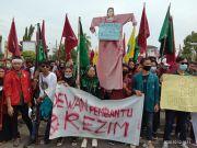 Ribuan Mahasiswa Lampung Utara Tolak UU Ciptakerja