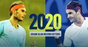 Rekor Grand Slam 2020 Rafael Nadal 20 Roger Federer 20