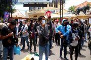 Puluhan Jurnalis Kota Cirebon Gelar Aksi Tolak Kekerasan Pers, Kapolres Menolak Bertemu