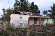 Diterjang Puting Beliung, Rumah Warga di Madina Rusak