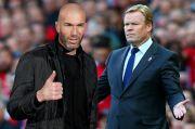 Adu Taktik Koeman vs Zidane di El Clasico La Liga 2020/2021 Digelar 24 Oktober