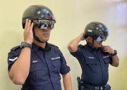 Keren, KTM Lengkapi Polisi dengan Helm Pendeteksi Covid-19