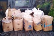 Ratusan Liter Miras Diamankan Polisi di Pelabuhan Lirung Talaud