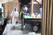 Cegah COVID-19, Satgas TMMD Edukasi dan Penyemprotan Desinfektan
