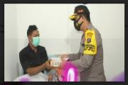 Kapolresta Pematangsiantar Semangati Anggota yang Dirawat di Rumah Sakit