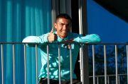 Masih Positif Corona, Ronaldo Nekad Kembali ke Juventus