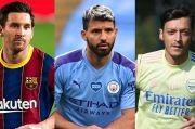 Kontrak 2021 Habis, Kemana Messi, Aguero dan Oezil Berlabuh