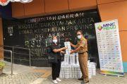MNC Peduli Salurkan Makanan untuk Petugas di Empat Puskesmas di Jakarta