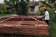 Ditpolair Polda Kalbar Amankan 1.000 Batang Kayu Ilegal di Sungai Kapuas