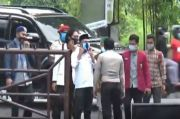 Polisi dan Mahasiswa Bersitegang di Pos Jaga Mapolda NTB
