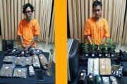 Dua Bandar Narkoba di Bali Dibekuk, Ganja 4,5 Kg Disita