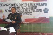 Dedy Tabrani, Wakapolresta Tangerang Raih Gelar Doktor dengan Predikat Cum Laude
