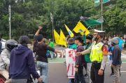 Tutup Jalan Pemuda Pas Jam Pulang Kerja, Mahasiswa dan Polisi Perang Mulut