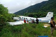Runway Licin karena Hujan, Pesawat Tariku Air Tergelincir di Bandara Bayabiru