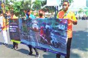 Kasus Laka di Perlintasan Pintu Kereta di Surabaya Masih Tinggi